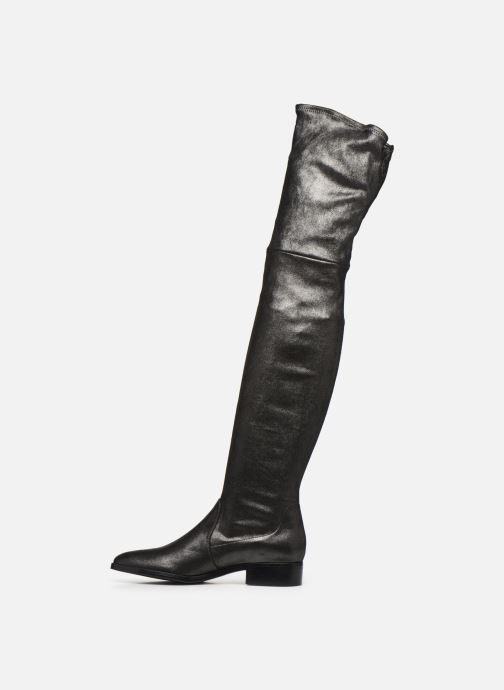 Stiefel Parallèle Fabea C silber ansicht von vorne