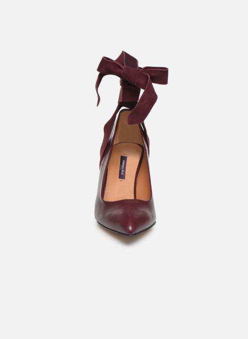 Escarpins Parallèle Jane C Bordeaux vue portées chaussures