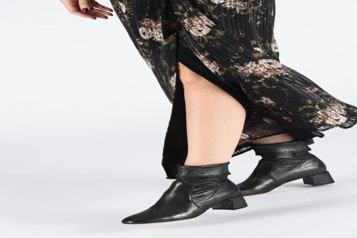 Bottines et boots Parallèle Kim C Argent vue bas / vue portée sac