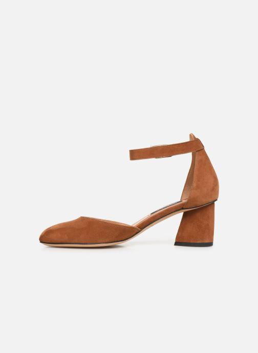 Zapatos de tacón Parallèle Marilou C Marrón vista de frente