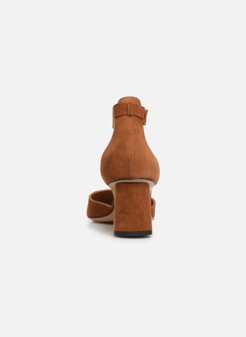 Zapatos de tacón Parallèle Marilou C Marrón vista lateral derecha