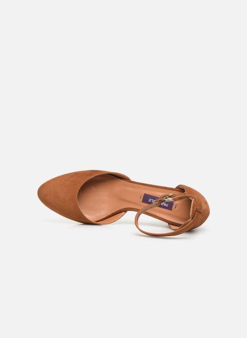 Zapatos de tacón Parallèle Marilou C Marrón vista lateral izquierda