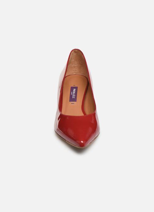Escarpins Parallèle Nafta Vernis C Rouge vue portées chaussures