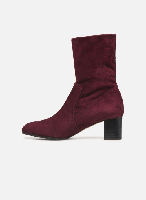 Bottines et boots Parallèle Odyssey C Bordeaux vue face