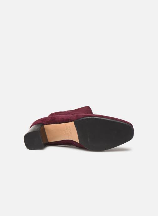 Bottines et boots Parallèle Odyssey C Bordeaux vue haut