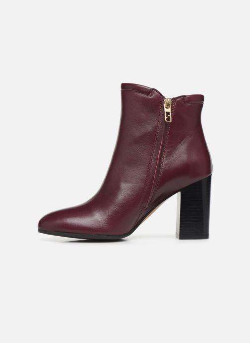 Bottines et boots Parallèle Padme Nappa C Bordeaux vue face