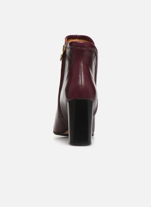 Bottines et boots Parallèle Padme Nappa C Bordeaux vue droite