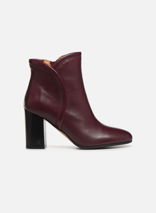 Bottines et boots Parallèle Padme Nappa C Bordeaux vue derrière