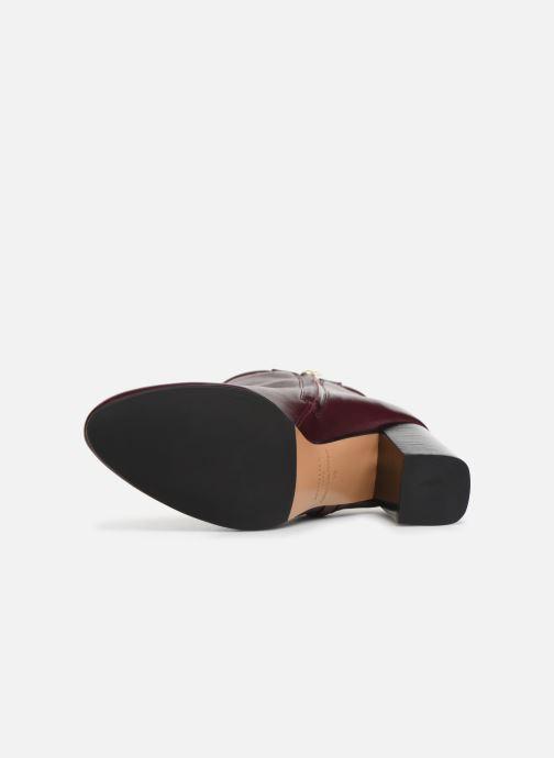 Bottines et boots Parallèle Padme Nappa C Bordeaux vue haut