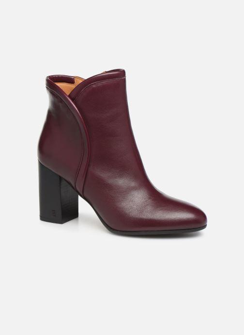 Bottines et boots Parallèle Padme Nappa C Bordeaux vue détail/paire
