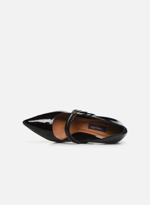 Zapatos de tacón Parallèle Sharon C Negro vista lateral izquierda