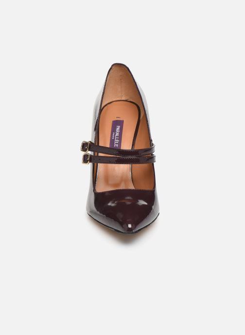 Escarpins Parallèle Sharon C Bordeaux vue portées chaussures
