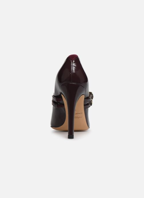 Zapatos de tacón Parallèle Sharon C Vino vista lateral derecha