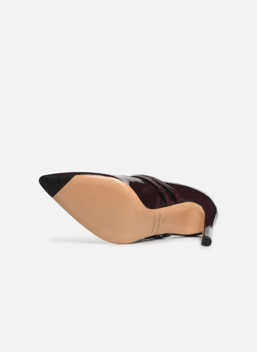Zapatos de tacón Parallèle Sharon C Vino vista de arriba