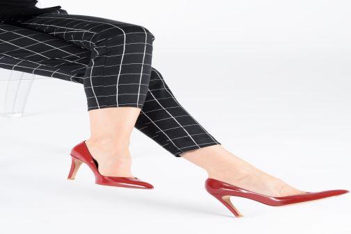 Zapatos de tacón Parallèle Zirta C Rojo vista de abajo