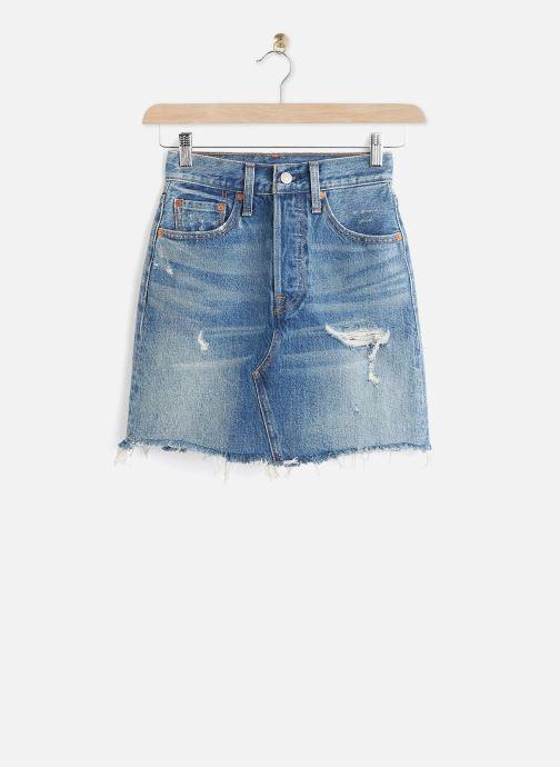 Vêtements Levi's Hr Decon Iconic Bf Skirt Bleu vue détail/paire