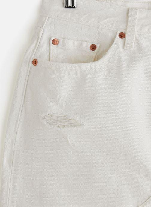 Vêtements Levi's Hr Decon Iconic Bf Skirt Blanc vue portées chaussures
