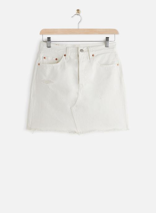 Vêtements Levi's Hr Decon Iconic Bf Skirt Blanc vue détail/paire