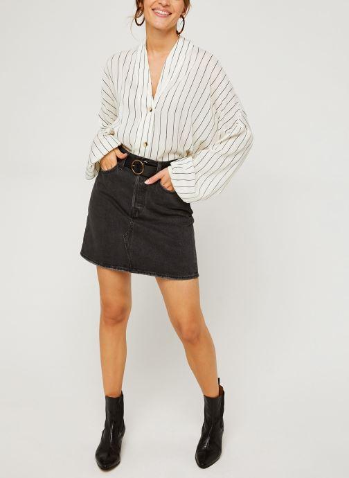 Vêtements Levi's Hr Decon Iconic Bf Skirt Noir vue bas / vue portée sac
