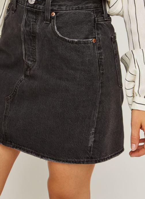 Vêtements Levi's Hr Decon Iconic Bf Skirt Noir vue face