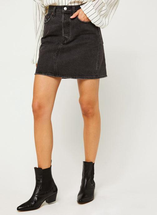 Vêtements Levi's Hr Decon Iconic Bf Skirt Noir vue détail/paire