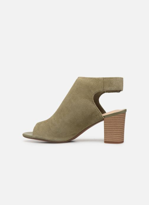 Sandales et nu-pieds Clarks Unstructured Deva Bell Vert vue face