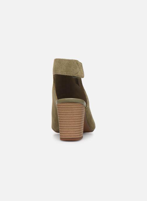 Sandales et nu-pieds Clarks Unstructured Deva Bell Vert vue droite