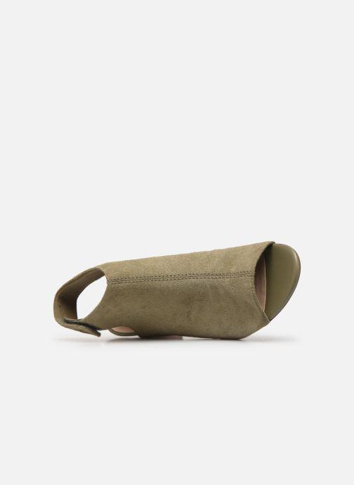 Sandales et nu-pieds Clarks Unstructured Deva Bell Vert vue gauche