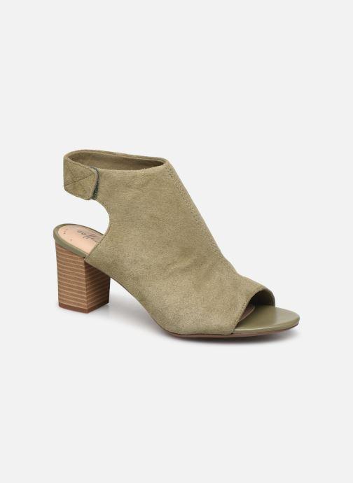 Sandales et nu-pieds Clarks Unstructured Deva Bell Vert vue détail/paire