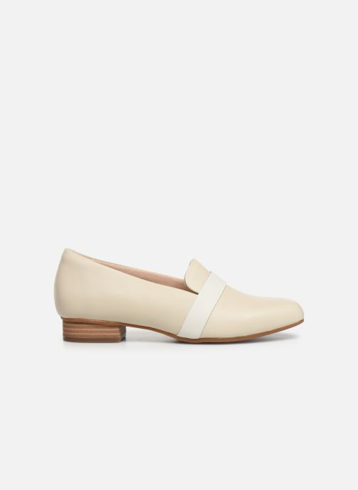 Mocasines Clarks Unstructured Juliet Ariel Blanco vistra trasera