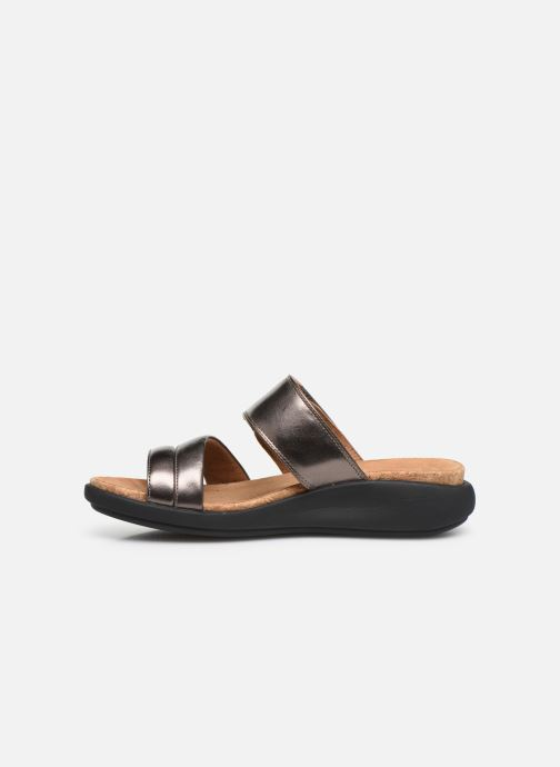 Mules & clogs Clarks Unstructured Un Bali Silver front view