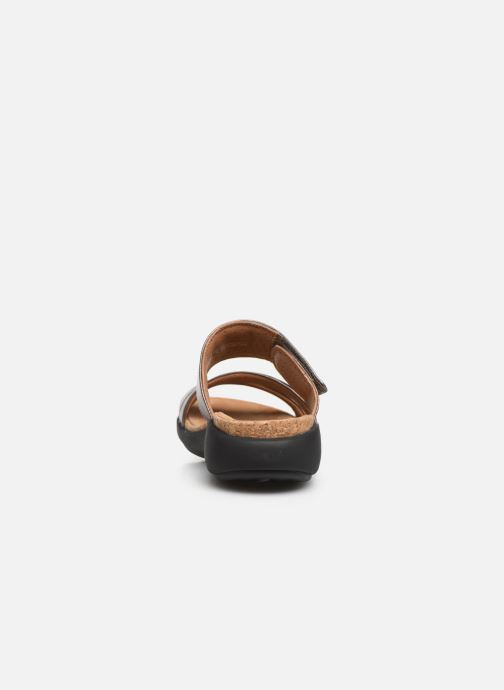 Mules & clogs Clarks Unstructured Un Bali Silver view from the right