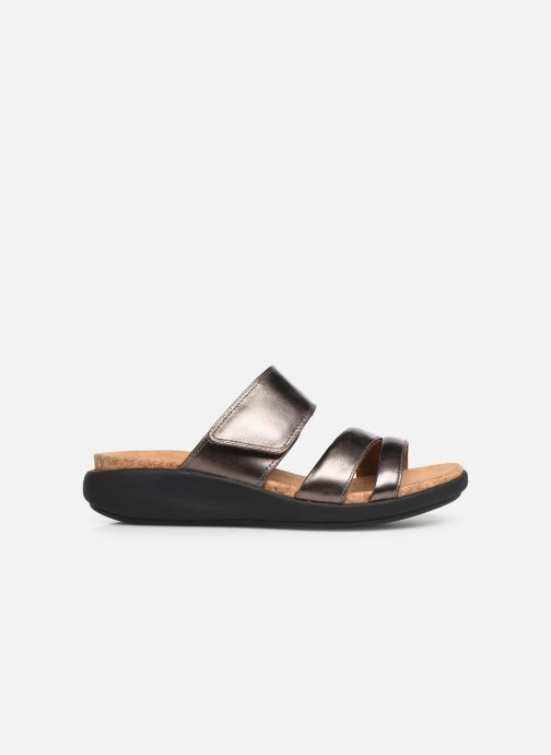 Mules & clogs Clarks Unstructured Un Bali Silver back view
