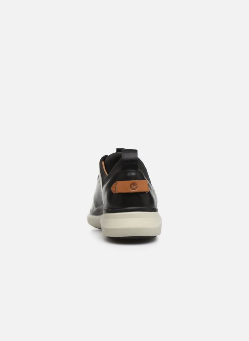 Trainers Clarks Unstructured Un Globe Vibe Black view from the right