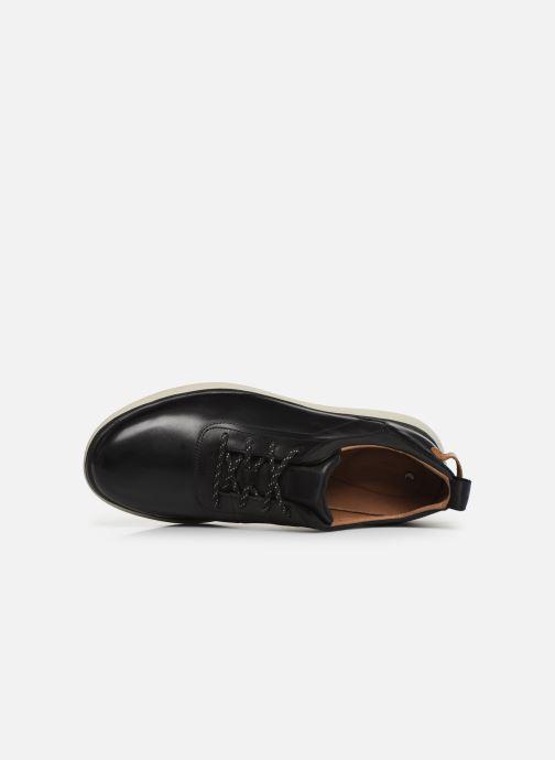 Sneakers Clarks Unstructured Un Globe Vibe Nero immagine sinistra