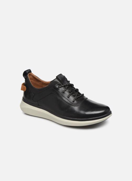 Sneakers Clarks Unstructured Un Globe Vibe Zwart detail