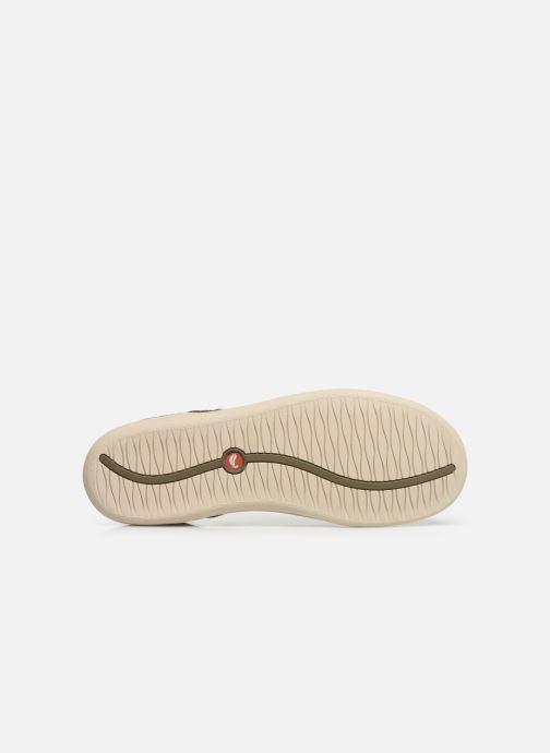 Chaussures à lacets Clarks Unstructured Un Lisbon Lace Vert vue haut