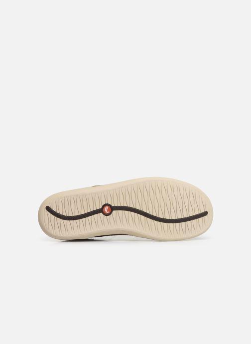 Zapatos con cordones Clarks Unstructured Un Lisbon Lace Marrón vista de arriba