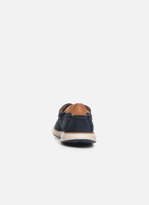 Chaussures à lacets Clarks Unstructured Un Pilot Lace Bleu vue droite