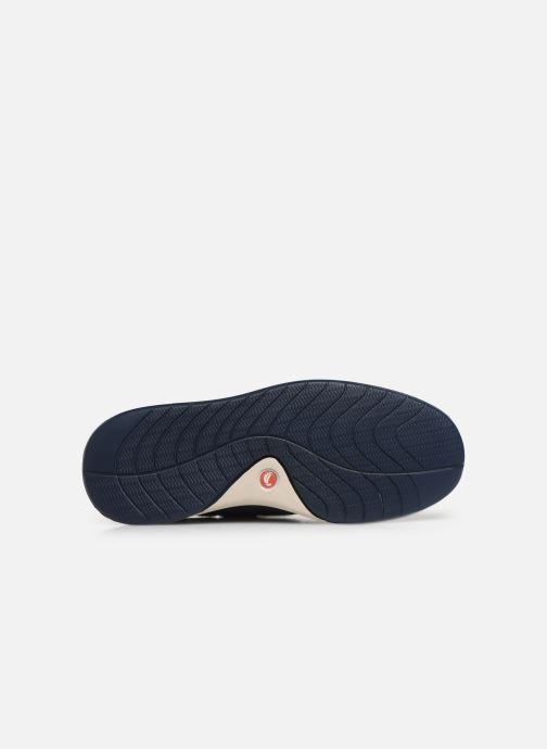 Chaussures à lacets Clarks Unstructured Un Pilot Lace Bleu vue haut