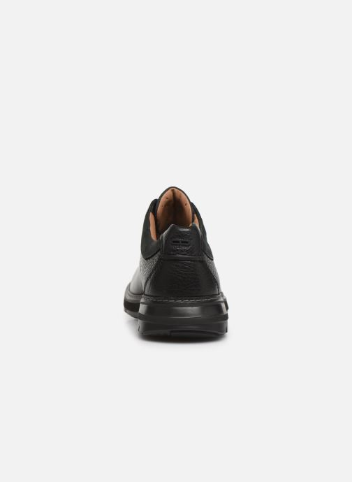 Lace-up shoes Clarks Unstructured Un Ramble Lo Black view from the right