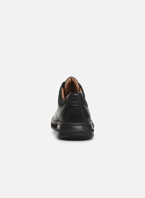 Chaussures à lacets Clarks Unstructured Un Ramble Lo Noir vue droite