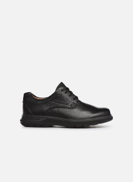 Chaussures à lacets Clarks Unstructured Un Ramble Lo Noir vue derrière