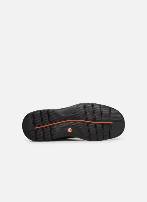Chaussures à lacets Clarks Unstructured Un Ramble Lo Noir vue haut