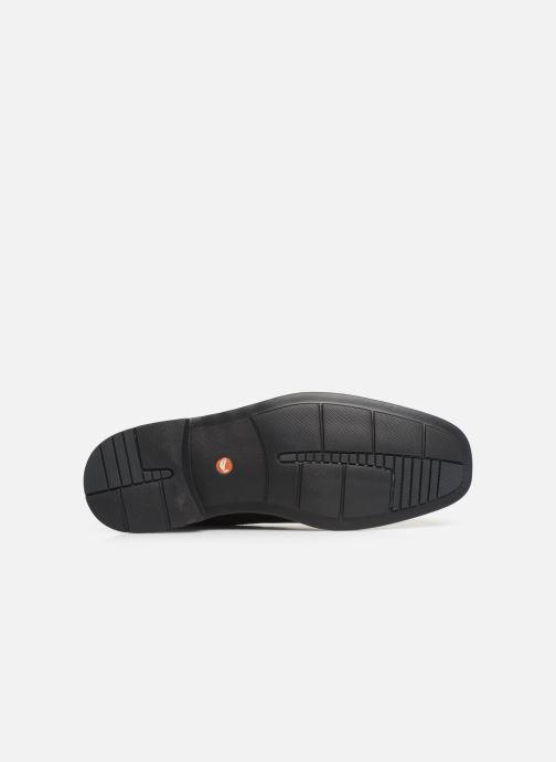 Chaussures à lacets Clarks Unstructured UnKenneth Way Noir vue haut