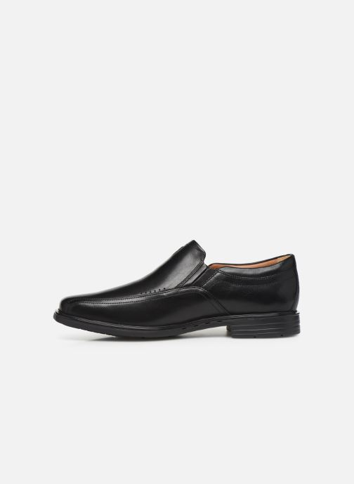Loafers Clarks Unstructured Unsheridan Go Black front view