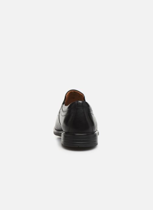 Loafers Clarks Unstructured Unsheridan Go Black view from the right