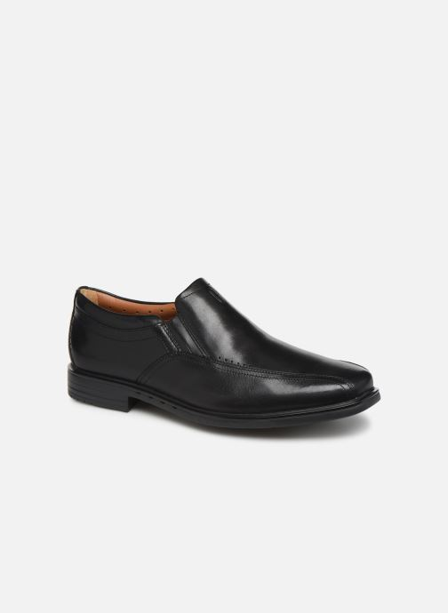 Loafers Clarks Unstructured Unsheridan Go Black detailed view/ Pair view