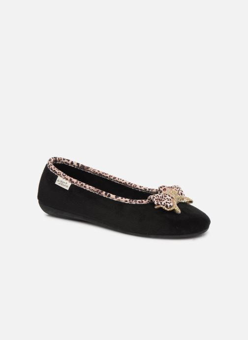 Pantofole La maison de l'espadrille Mounia Nero vedi dettaglio/paio