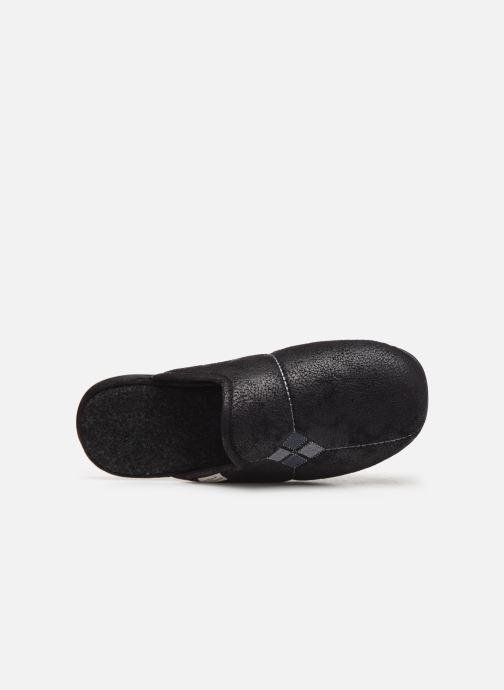 Pantofole La maison de l'espadrille Phi Nero immagine sinistra